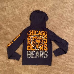 Pink NFL Chicago bears sweatshirt